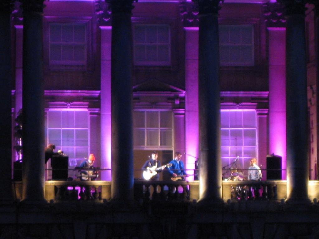 Vampire Weekend @ Somerset House 2010